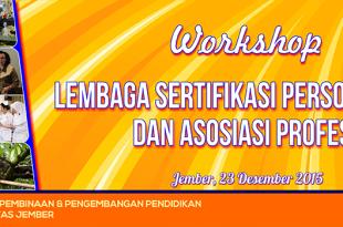 Workshop LSP & Asosiasi Profesi - Revisi I
