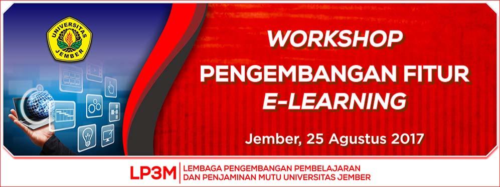 Workshop Pengembangan Fitur E-Learning1