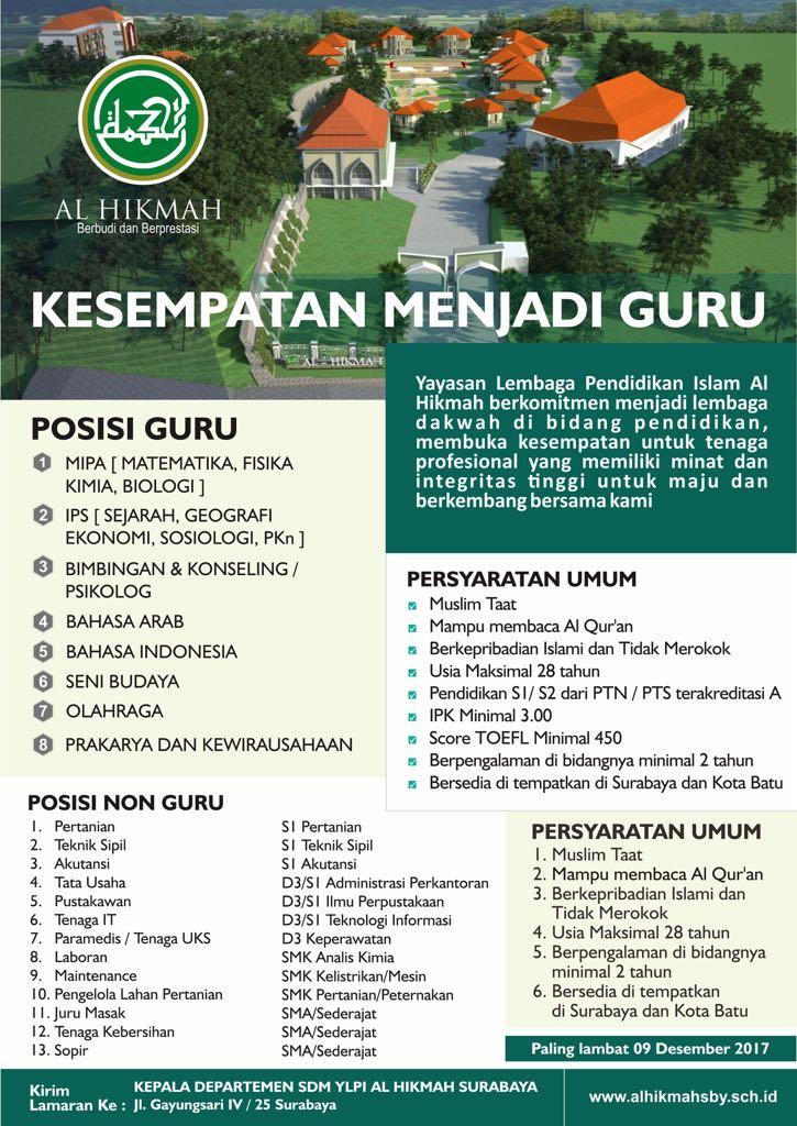 Humas YLPI Al Hikmah Surabaya1